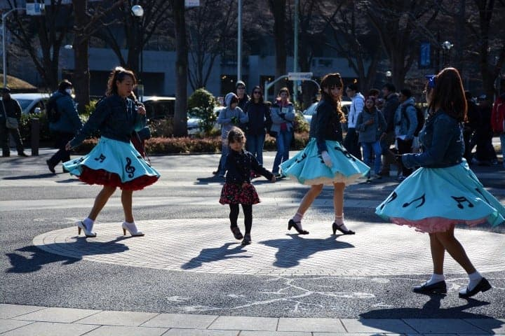 anime and cosplay in Tokyo