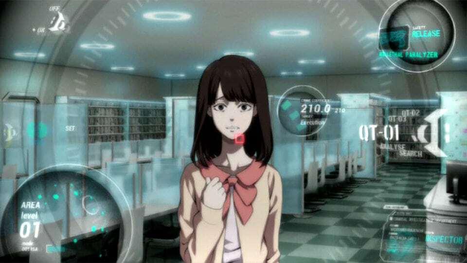 Psycho Pass Anime Series