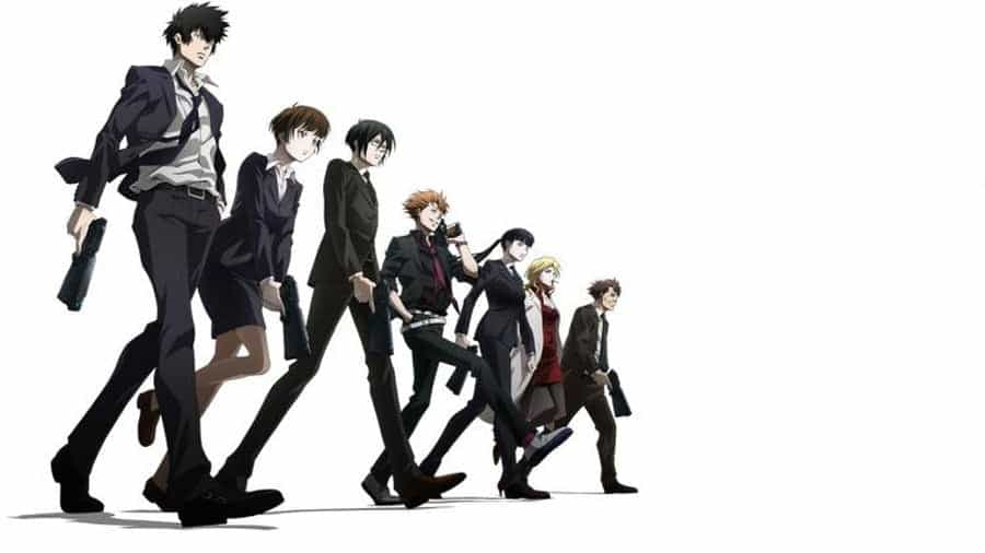 Psycho Pass Anime Series
