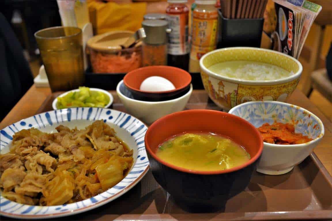 Healthy Food of Japan