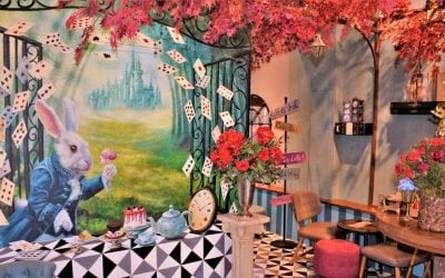 Perhaps Rabbits' Cafe In Bangkok Where Alice In Wonderland Comes Alive