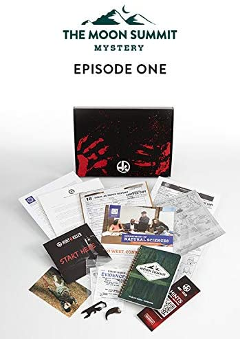 Hunt A Killer The Moon Summit Mystery Complete Box Set
