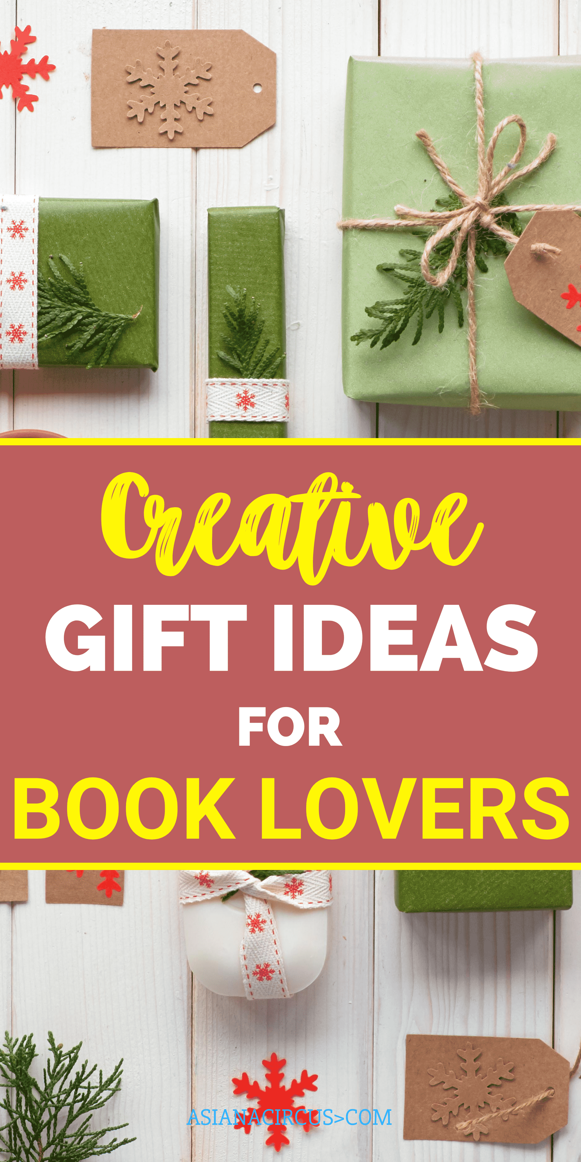 Literary gifts for bookstagrammers