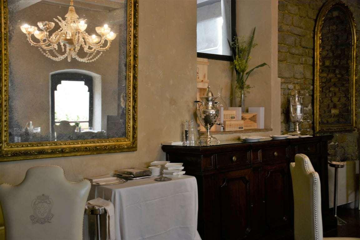 Santa Elisabetta Restaurant in Florence Italy Hotel Brunelleschi Unique Historic Hotel