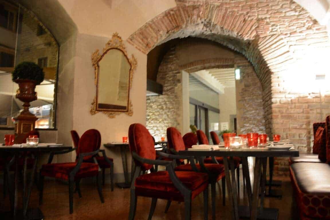 OSTERIA PAGLIAZZA Restaurant in Florence Italy Hotel Brunelleschi Unique Historic Hotel