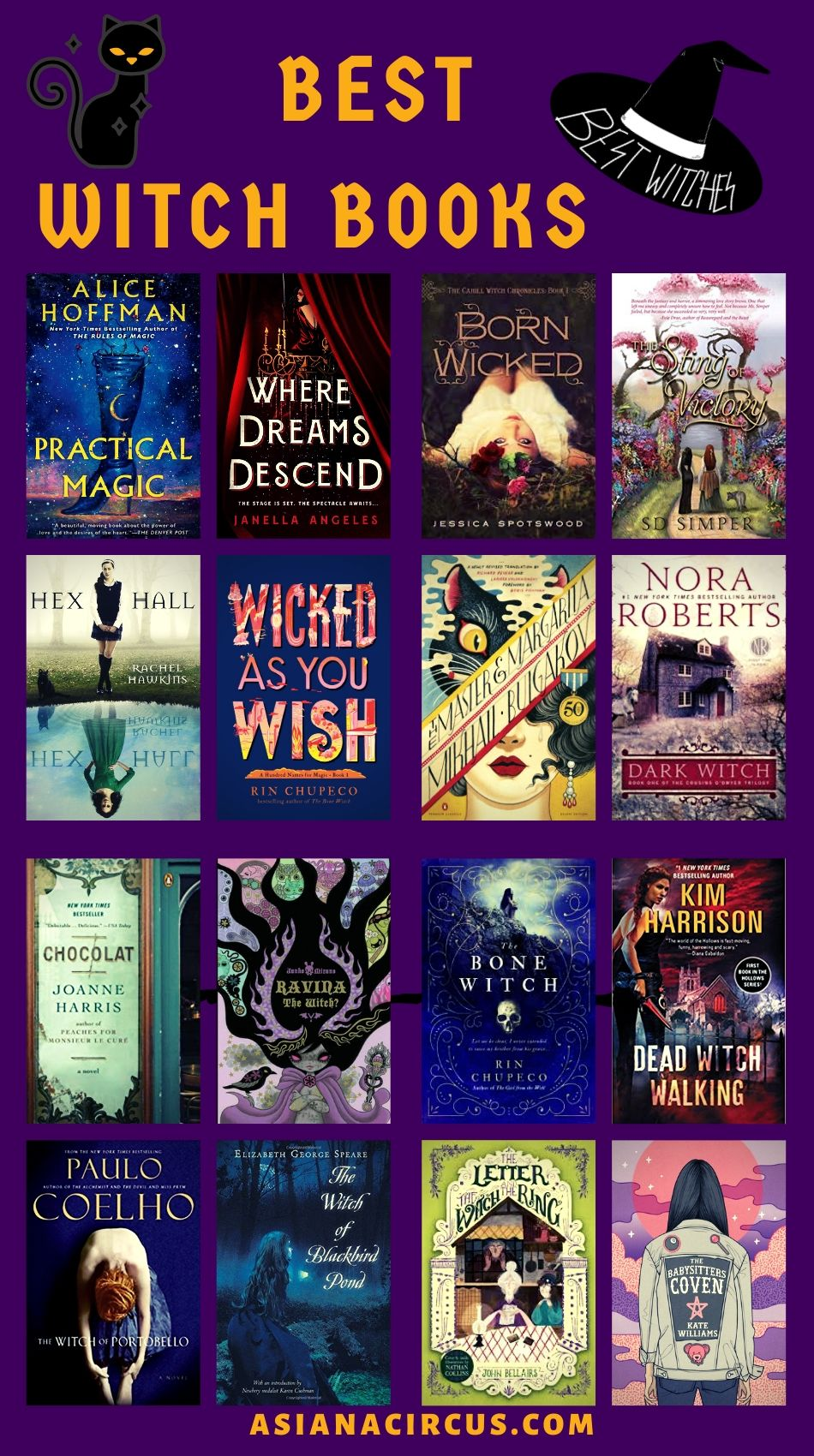 Best Witch Books From Around The World