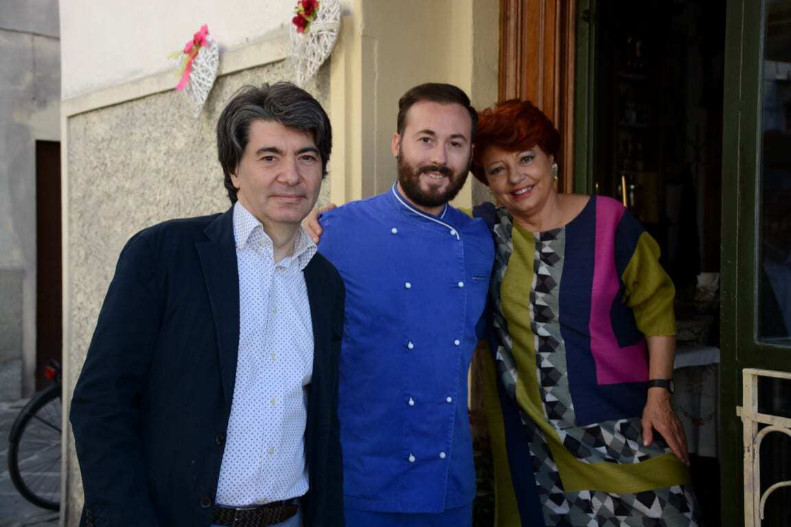 Places to Visit in Florence - Gilda Bistrot - Gilda her son & Chef