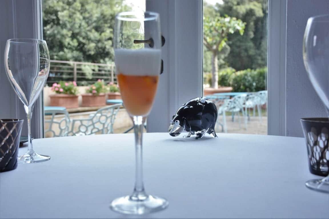 Places to visit in Florence - LA LEGGENDADEI FRATI Champagne Dessert
