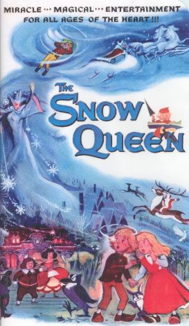 The Snow Queen 1957 Russian animated movie