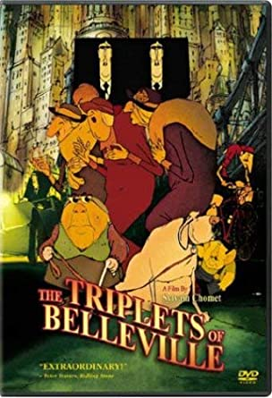 The Triplets Of Belleville - best french animated movies for adults