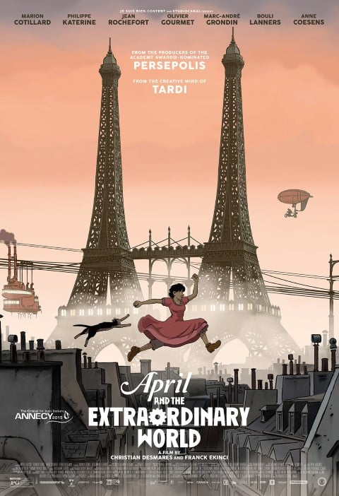 april and the extraordinary world - best french animated movies for adults (Small)