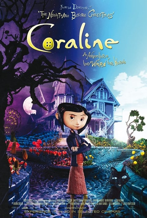 coraline - best animated movies for adults