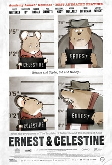 ernest & celestine - best french animated movies