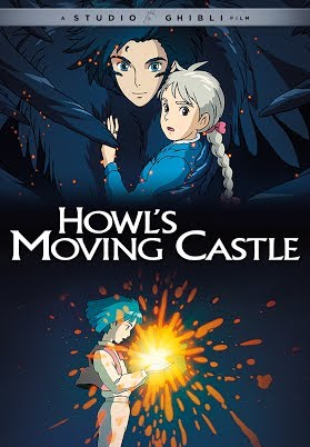 howl's moving castle - best animated movies for adults