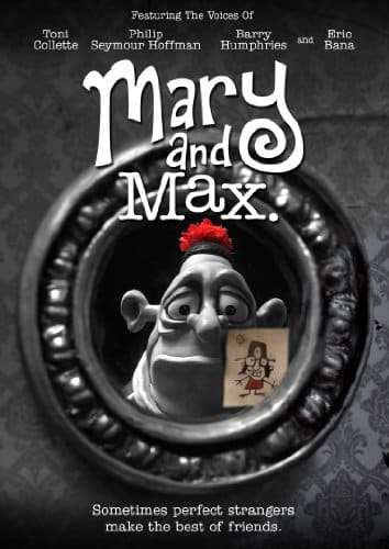 mary and max movie - best animated movies for adults
