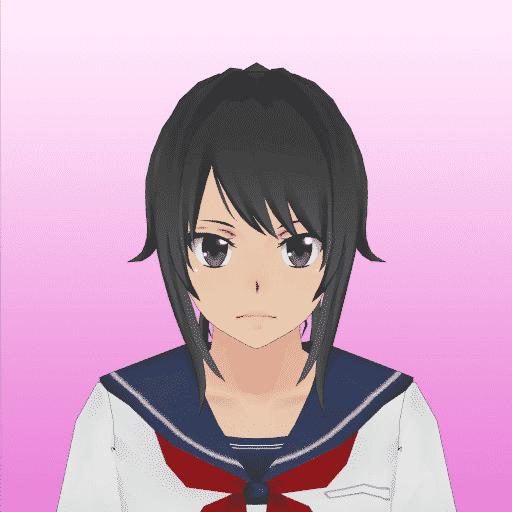 Ayano Aishi from LoveSick Yandere Simulator yandere girl