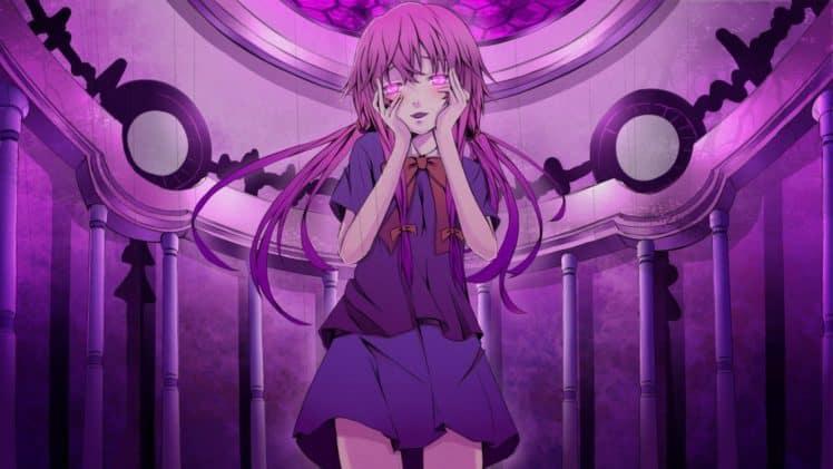Yandere Gilrs in Anime - 1 Gasai Yuno