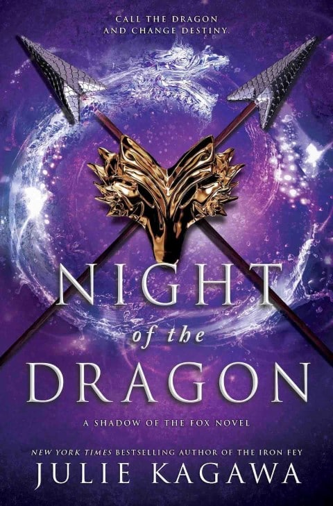Night of the Dragon by Julie Kagawa - dragon fantasy books 2020 (Small)