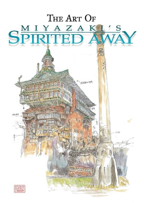 The Art of Spirited Away ghibli gifts (Small)