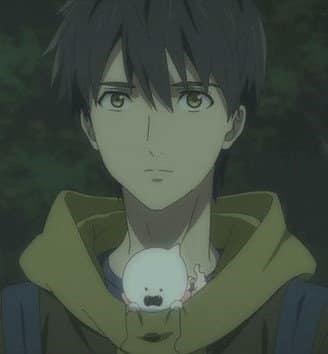 cute anime boys - Kurou Sakuragawa from In Spectre anime (Small)