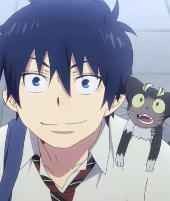 cute anime boys - Rin Okumura from Blue Exorcist
