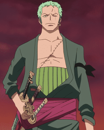 hottest anime guys - Roronoa Zoro from One Piece