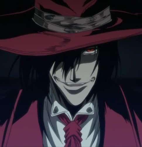 sexy dark anime guys - Alucard from Hellsing Ultimate