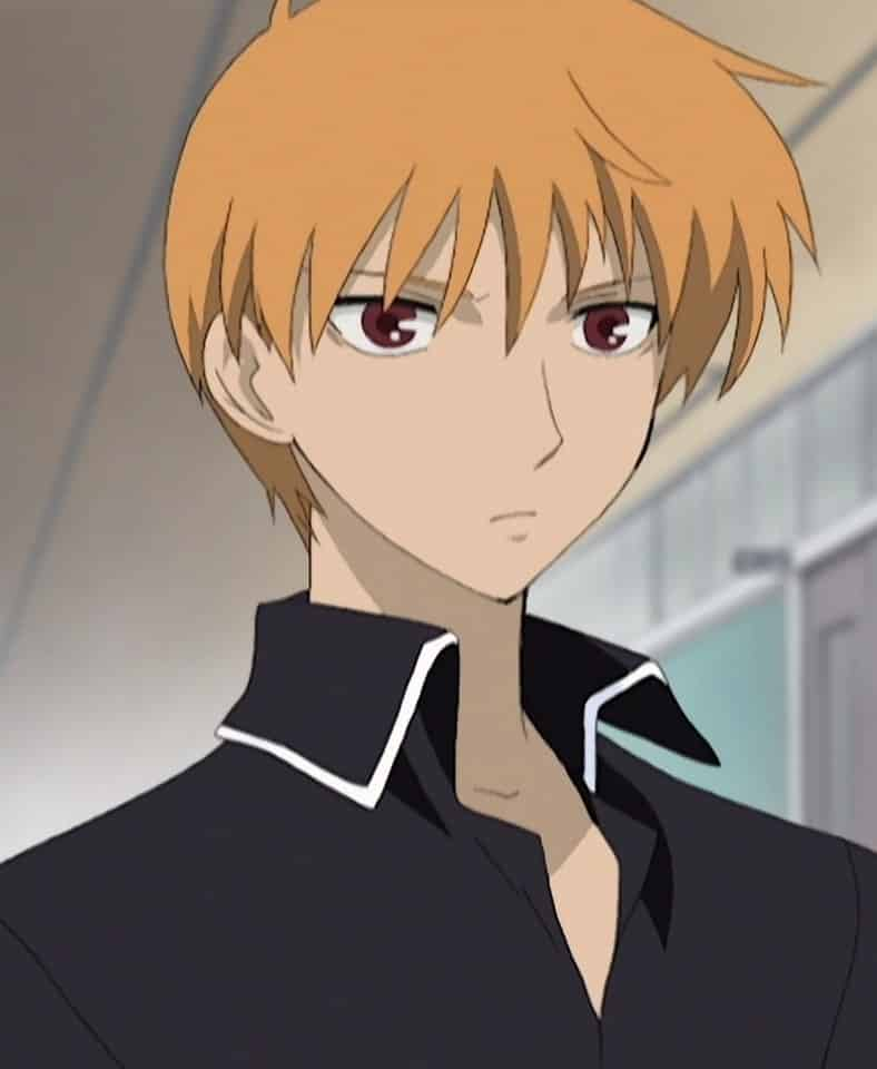 top cutest anime boys - Kyo Sohma from Fruits Basket