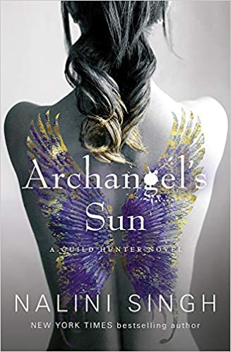 Archangel's Sun by Nalini Singh - vampire books for adults and Ya book lovers