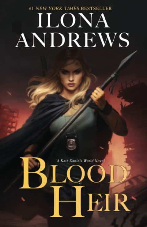 Blood Heir by Ilona Andrews Urban fantasy, Science Fiction, Paranormal romance book series (Small)