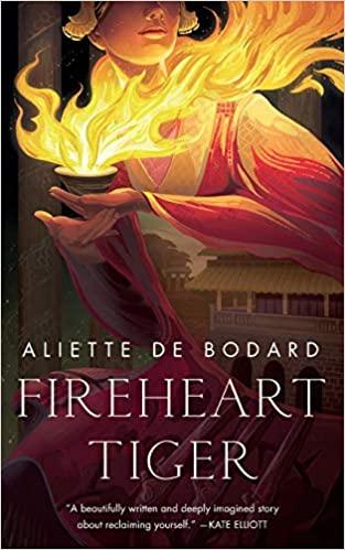 Fireheart Tiger by Aliette de Bodard, High Fantasy romance novel