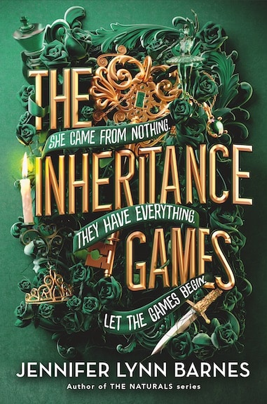 The Inheritance Games (The Inheritance Games 1) by Jennifer Lynn Barnes - romantic fantasy books for Young adult readers