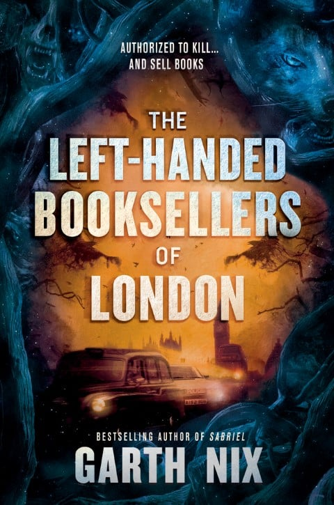 The Left-Handed Booksellers of London fantasy romance novels (Small)
