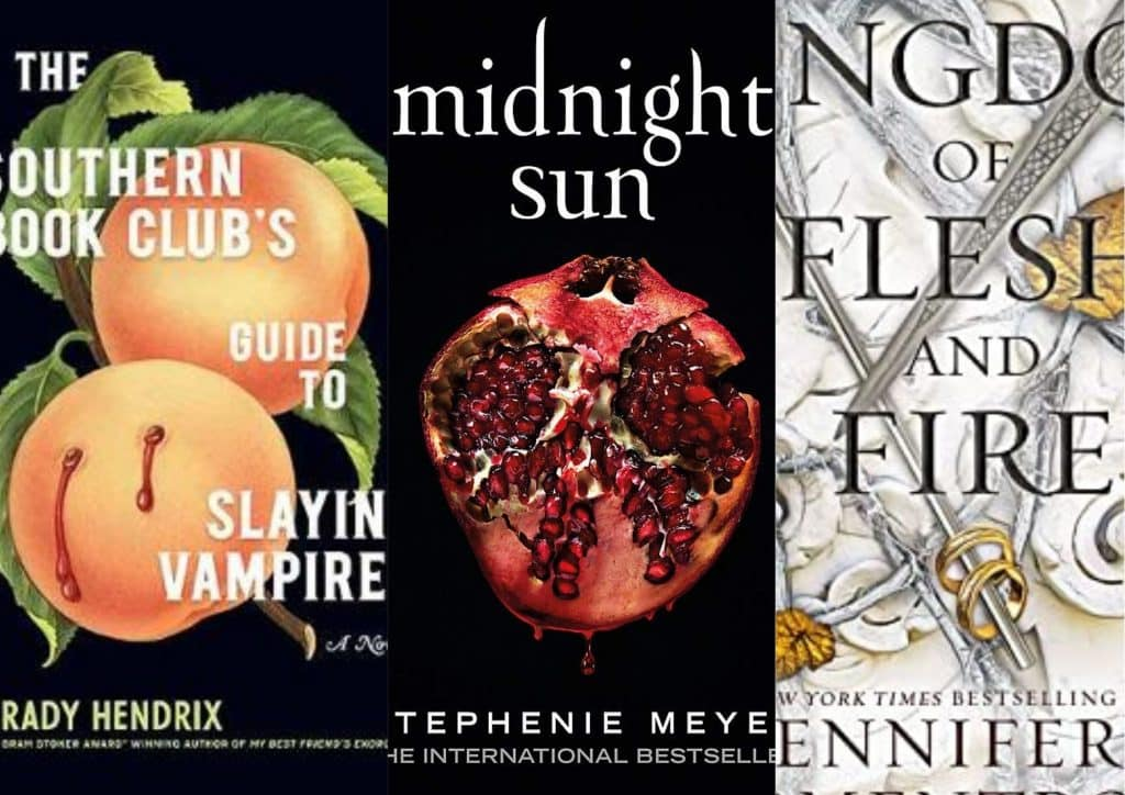 best new vampire books for adults and YA Readers