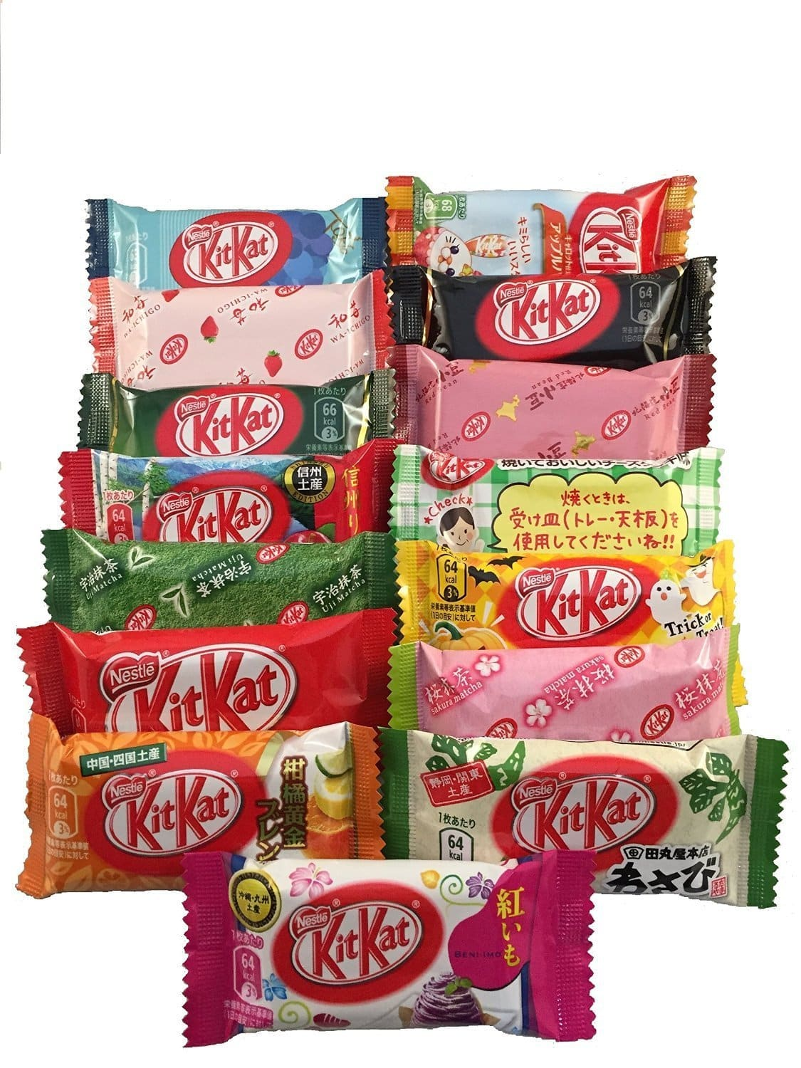 Japanese Kit Kat selection - guide to the best Japanese snacks everyone should try