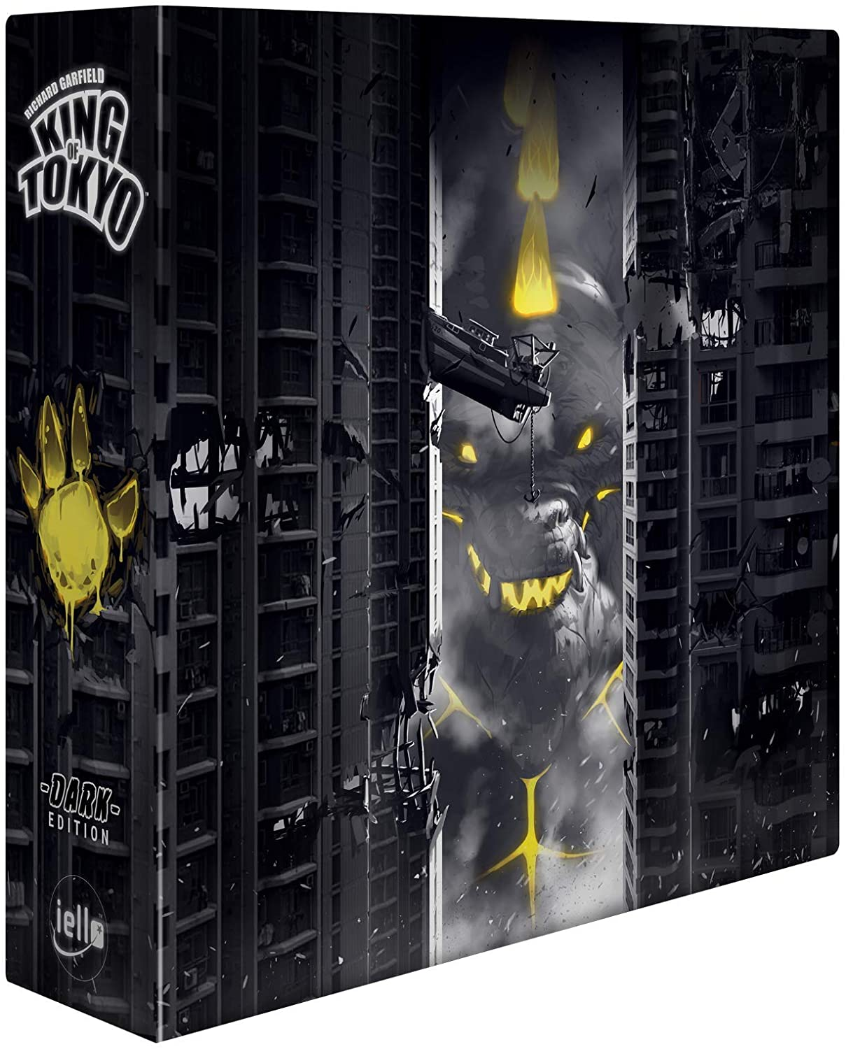 IELLO King of Tokyo Dark Edition - Limited Edition - best Japanese board games