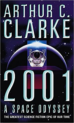 2001 A Space Odyssey by Arthur C. Clarke - space travel books - asiana circus