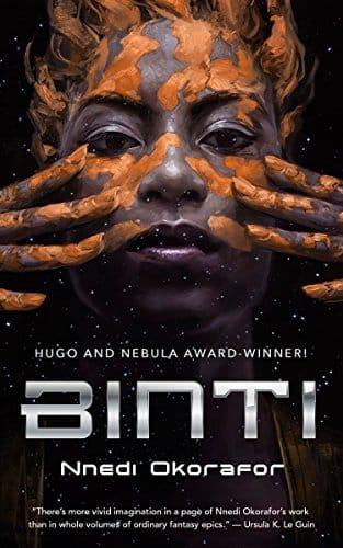 Binti (Binti, #1) by Nnedi Okorafor - space travel books - asiana circus