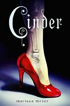 Cinder (The Lunar Chronicles, #1) by Marissa Meyer - space travel books - asiana circus