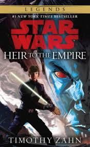 Heir to the Empire (Star Wars The Thrawn Trilogy, 1) by Timothy Zahn- space books - asiana circus