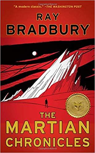 The Martian Chronicles by Ray Bradbury - space travel books - asiana circus