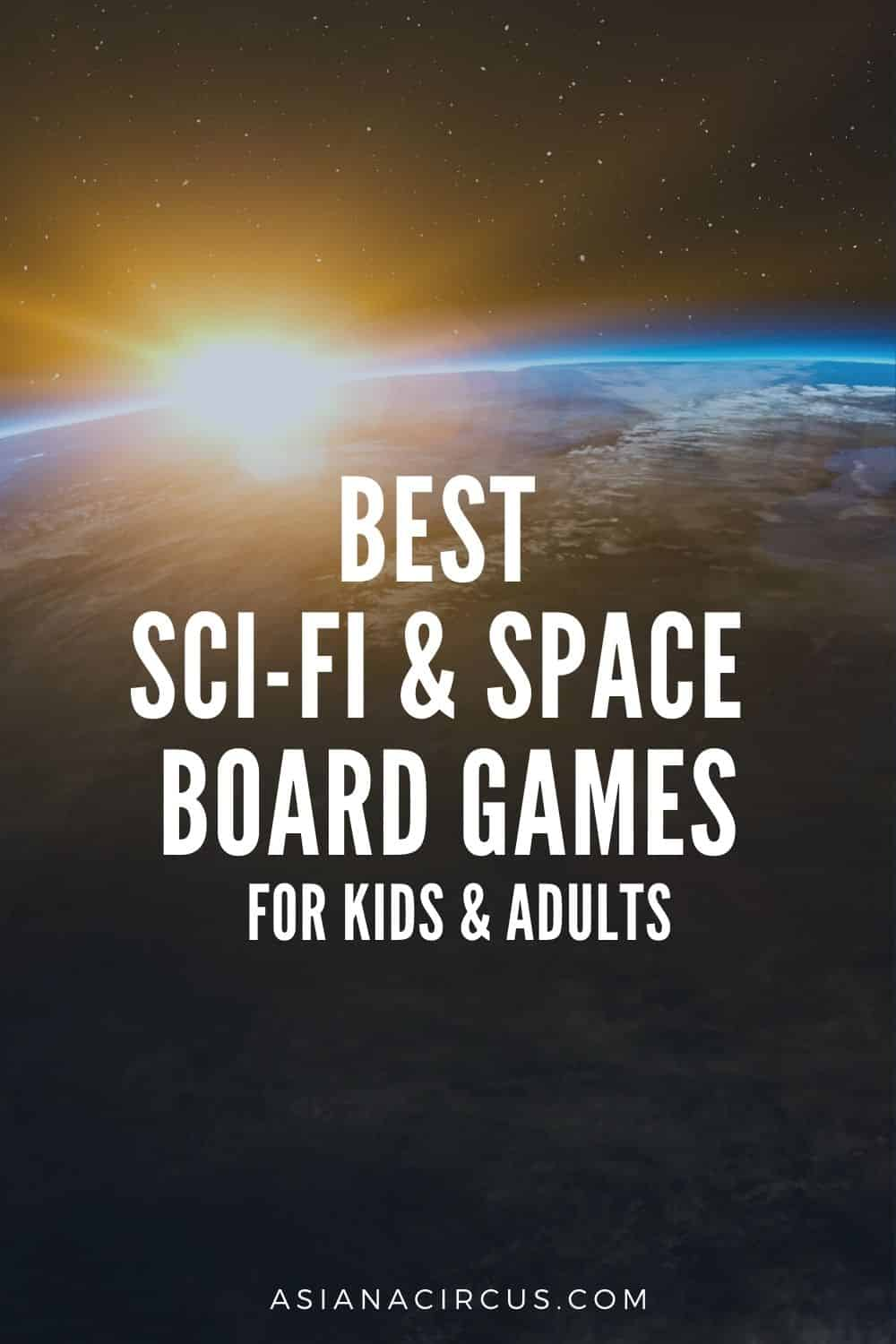 sci-fi and space themed board games