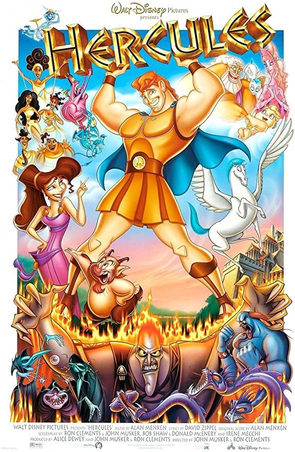Hercules (Disney) - movies set in Greece - asiana circus