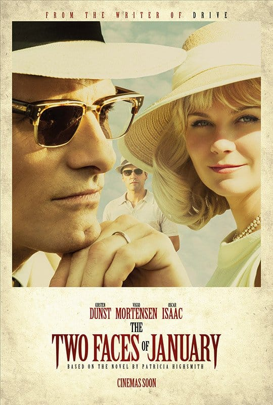 Two faces of january - movies about greece - asiana circus