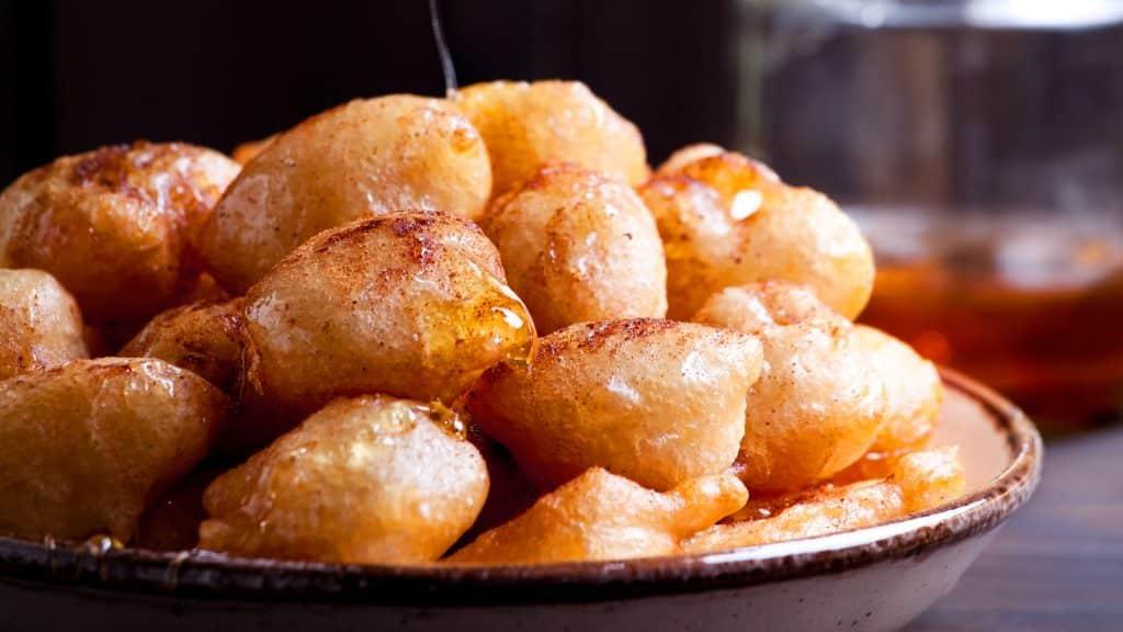 Ancient Greek Loukoumades Recipe Traditional Greek doughnuts