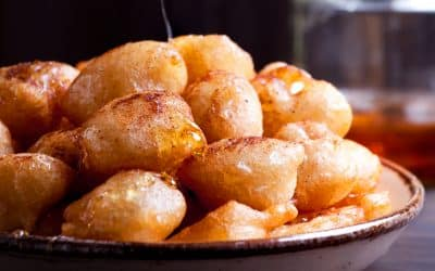 Ancient Greek Loukoumades Recipe | Traditional Greek doughnuts
