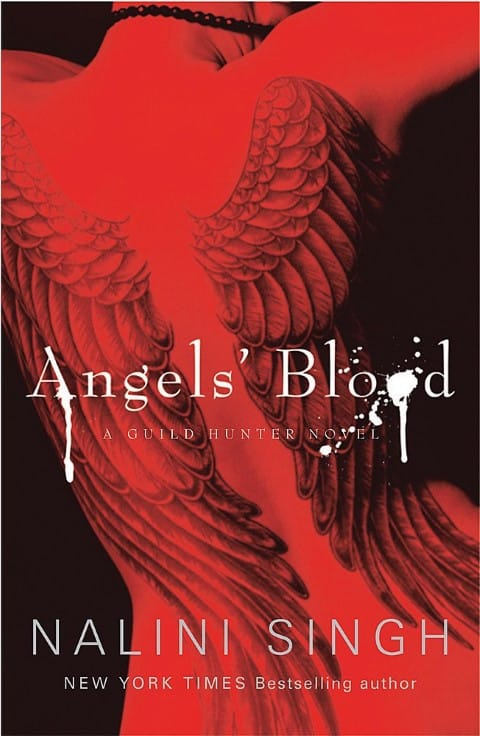 Angels' Blood (Guild Hunter, 1) by Nalini Singh - romance books with vampires (Small)