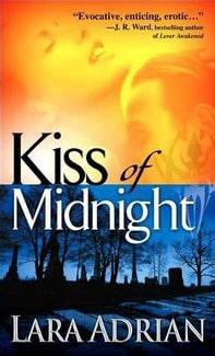 Kiss of Midnight (Midnight Breed, #1) by Lara Adrian - best vampire romance books