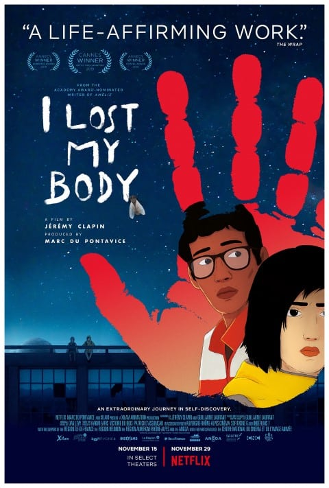 Lost My Body 2019 Animation Fantasy movies set in france (Small)