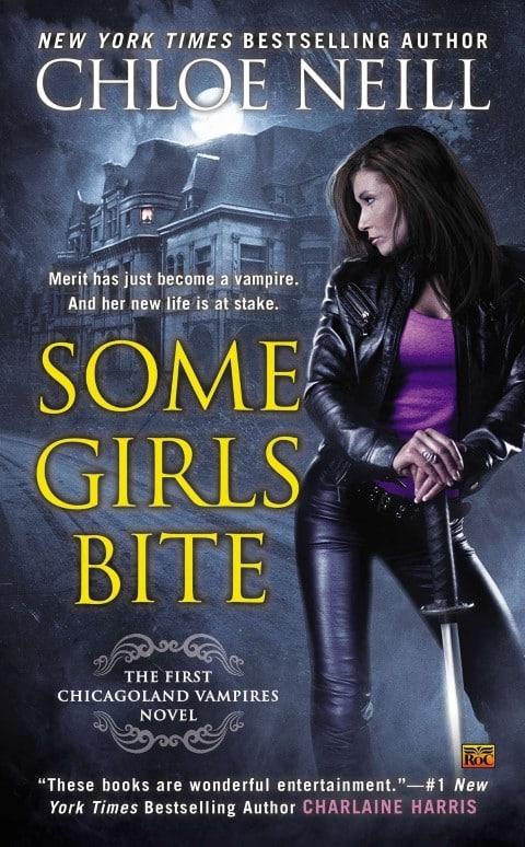 Some Girls Bite (Chicagoland Vampires, 1) by Chloe Neill - paranormal fantasy romance vampire book (Small)